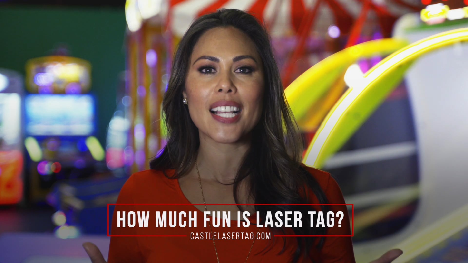 How much fun is laser tag?