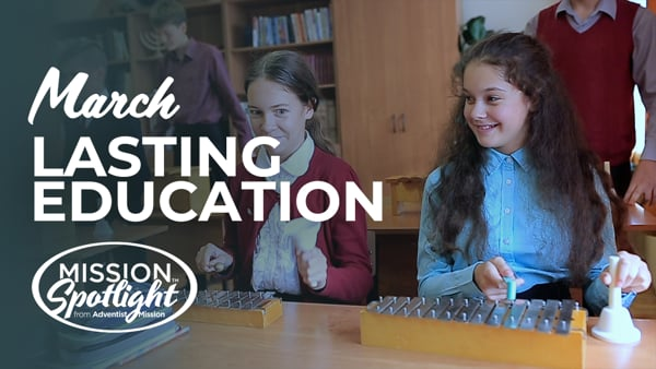Monthly Mission Video - Lasting Education