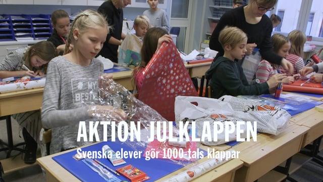 Informationsfilm Aktion Julklappen