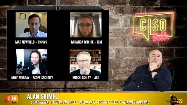CISO Talk 2020 Ep 8 – TechStrong TV
