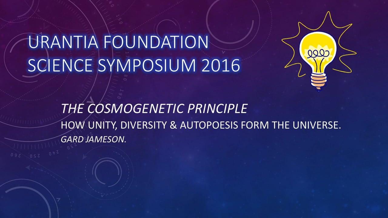 2016 Science Symposium (anglais)