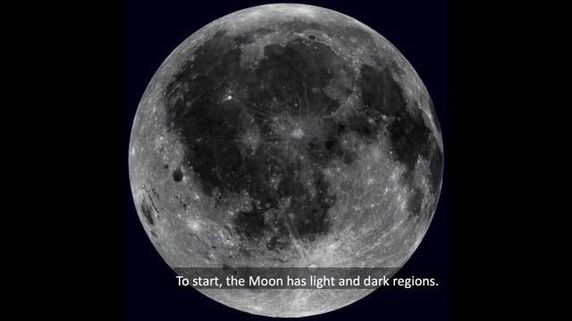 Exploring the Solar System: Observe the Moon Content Training Video