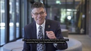Professor Paul Gough invites EU students to study at AUB