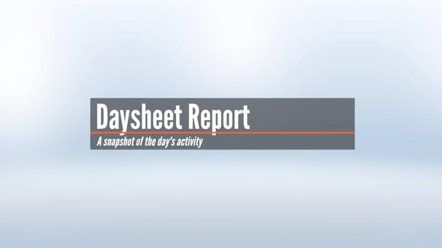 Daysheet