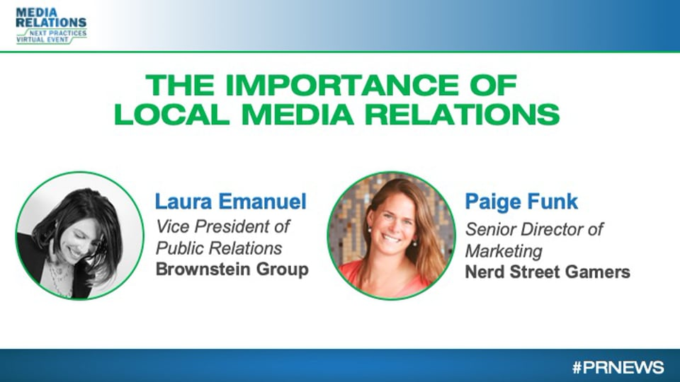 The Importance of Local in Media Relations