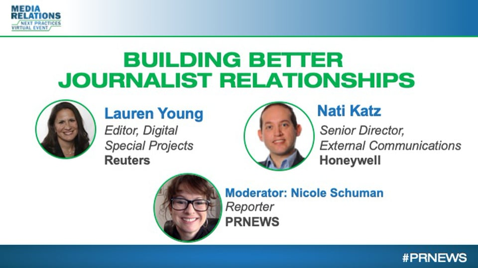 Building Better Journalist Relationships