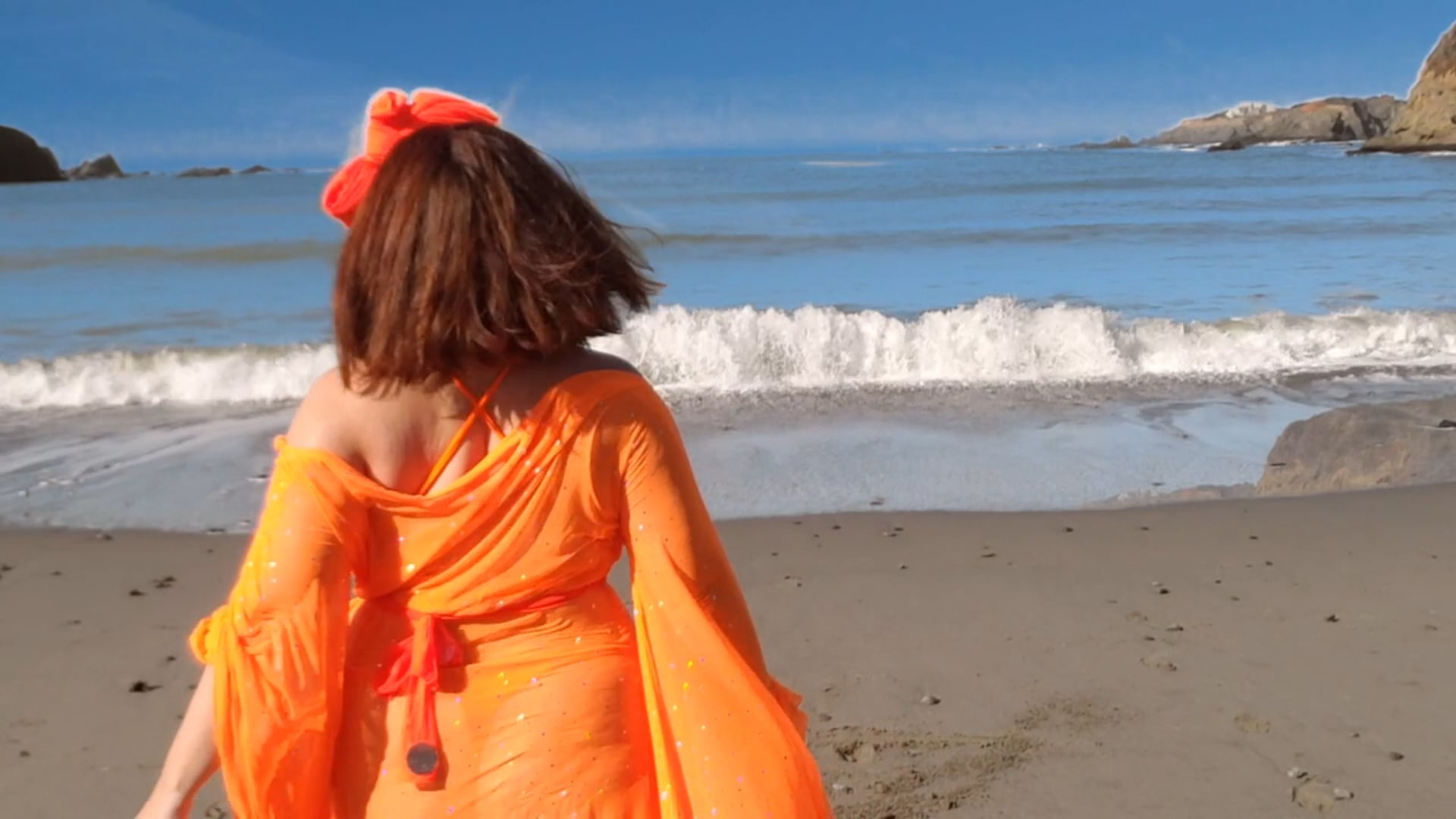 Year in Rainbow NEW WORK # 3: Orange you grateful for The Ocean