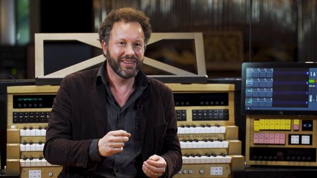 Sander Germanus in het Orgelpark