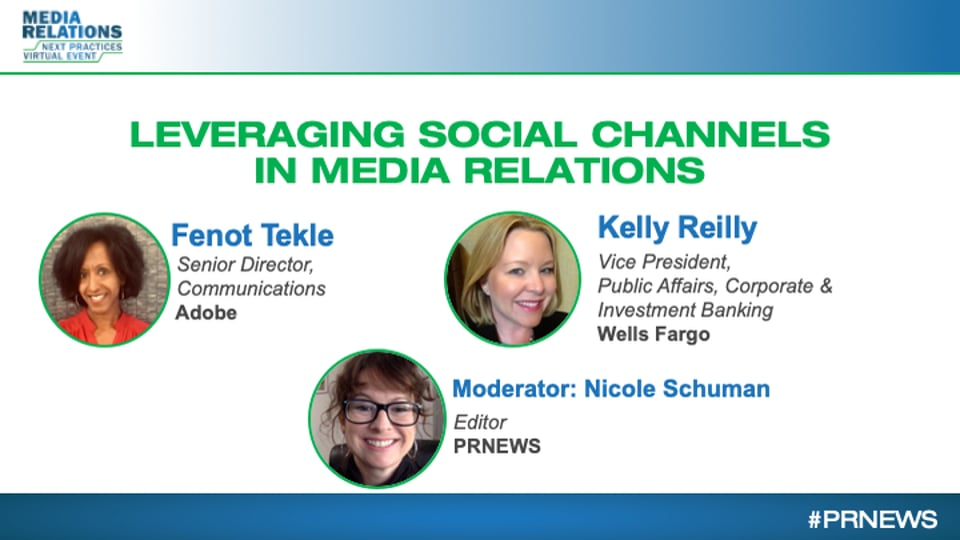 Leveraging Social Channels in Media Relations