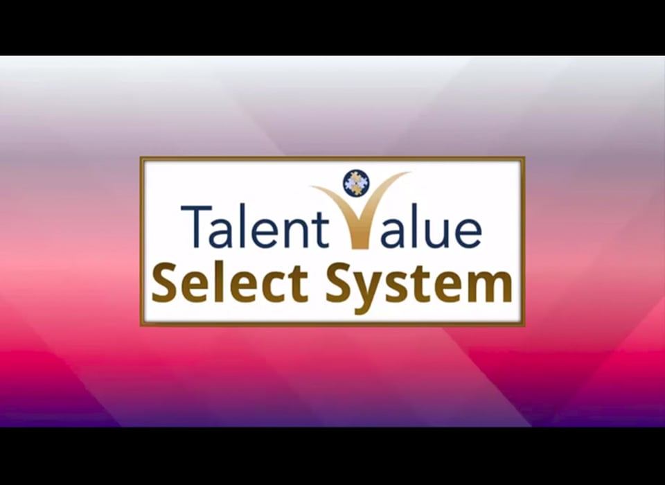 TalentValue SELECT PRESENTATION FOR NEW ATS-for VIMEO