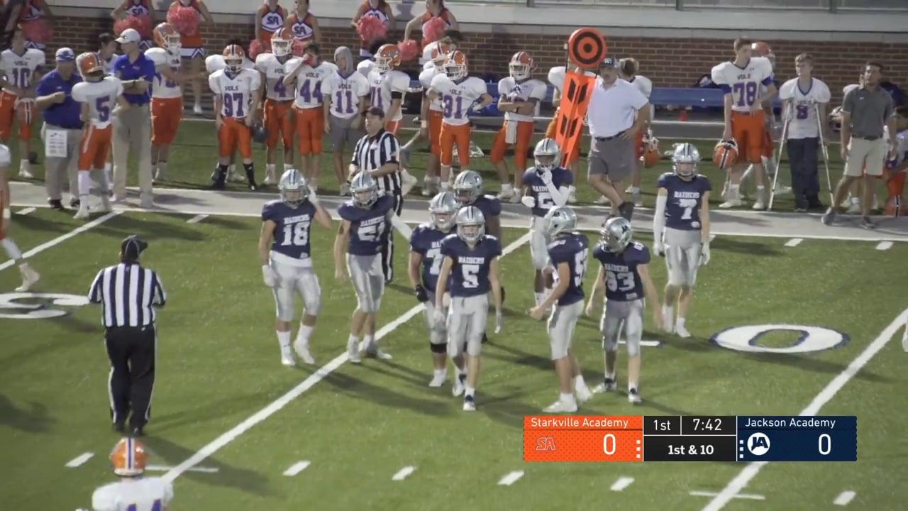 JV Football vs Starkville Academy 10.07.20