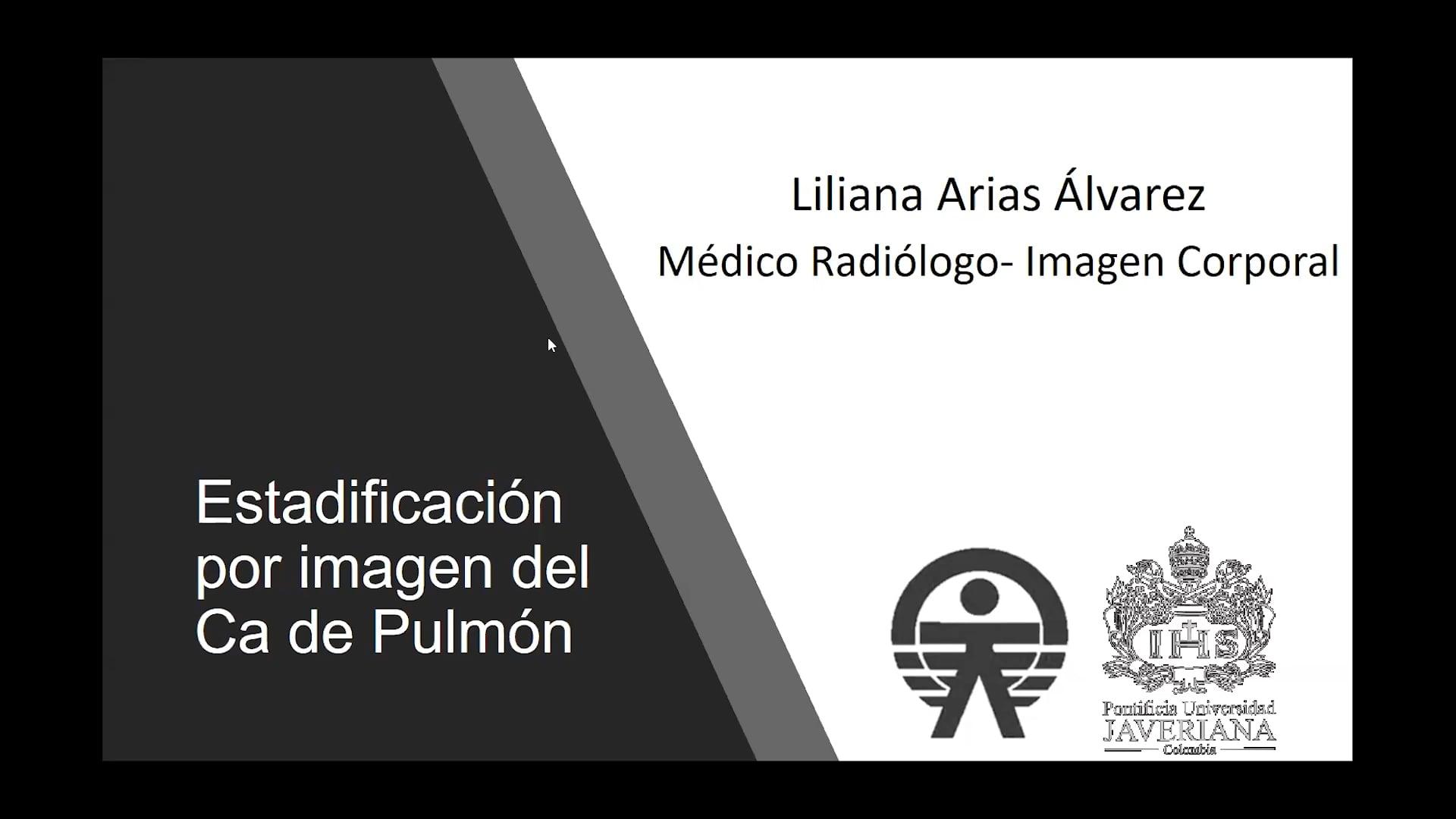Pulmón_Estadificación por imagen del cáncer de pulmón