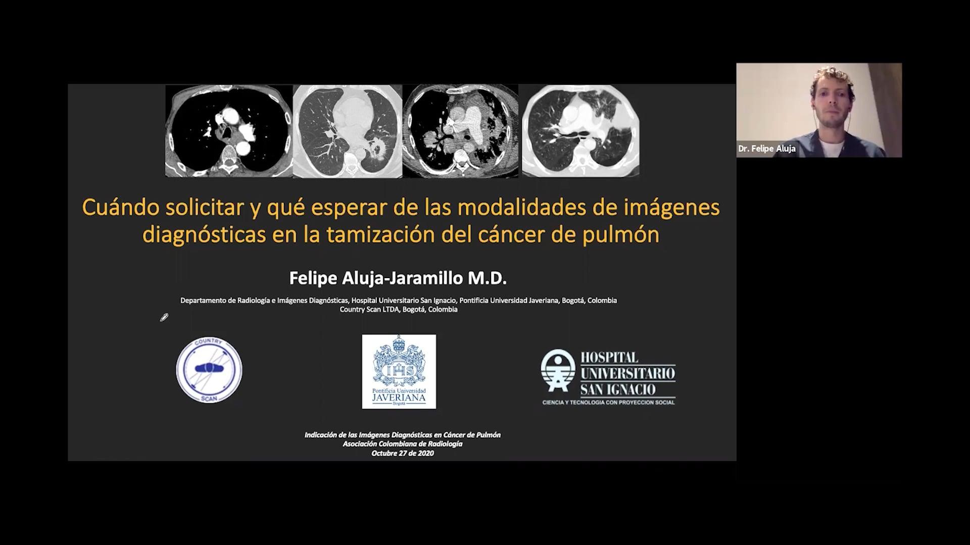 Pulmón_Cuándo solicitar y qué esperar de las modalidades de imágenes diagnósticas en la tamización del cáncer de pulmón