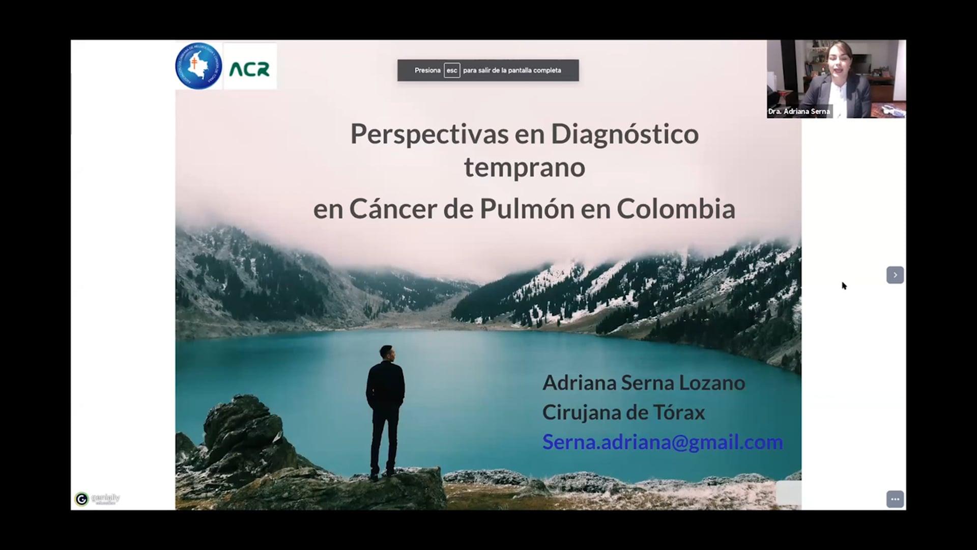 Pulmón_Perspectivas en diagnóstico temprano en cáncer de pulmón en Colombia