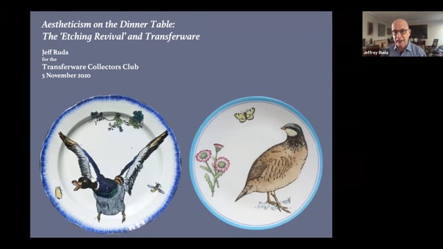 Aestheticism on the Dinner Table:The 'Etching Revival' and Transferware byJeffrey Ruda