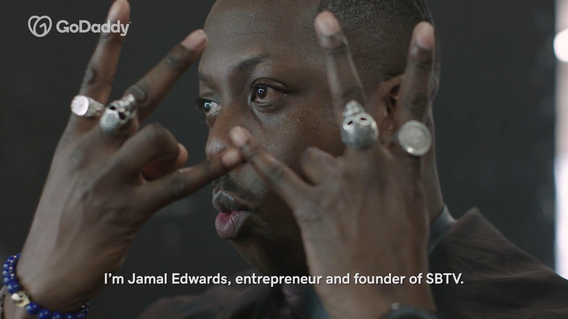 GODADDY   Jamal Edwards MBE Interviews...