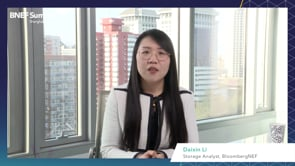 """Watch """"<h3>BNEF Talk: Competitive Landscape for Lithium-ion Batteries by Daixin Li, Storage Analyst, BloombergNEF</h3>"""""""