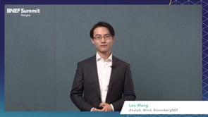 """Watch """"<h3>BNEF Talk: Renewable Energy Supply Chain at a Turning Point by Leo Wang, Wind Analyst, BloombergNEF</h3>"""""""