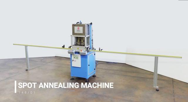 148/01 Spot annealing machine
