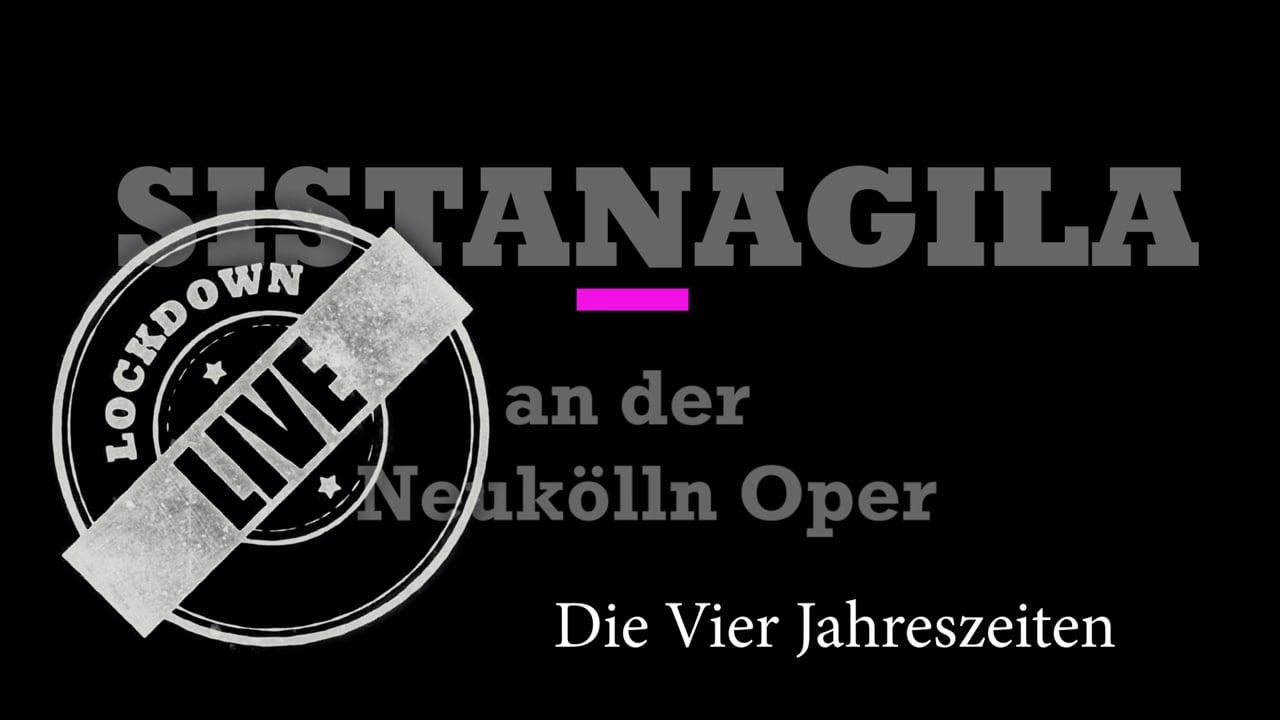 Four Seasons Live am der Neukölln Oper