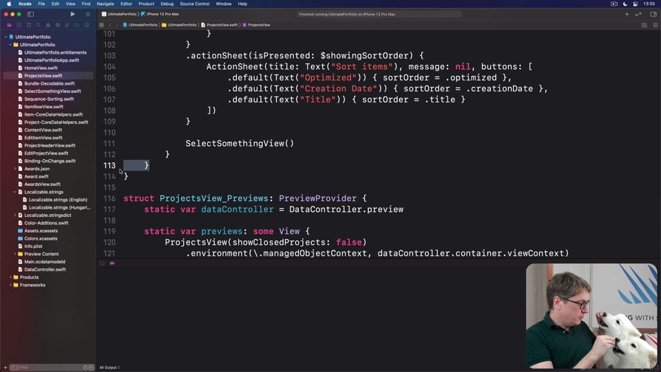 Cleaning up view code
