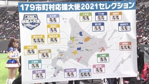 【ファイターズ・ファンフェスティバル2020】北海道179市町村応援大使2021セレクション!! 2020/12/6