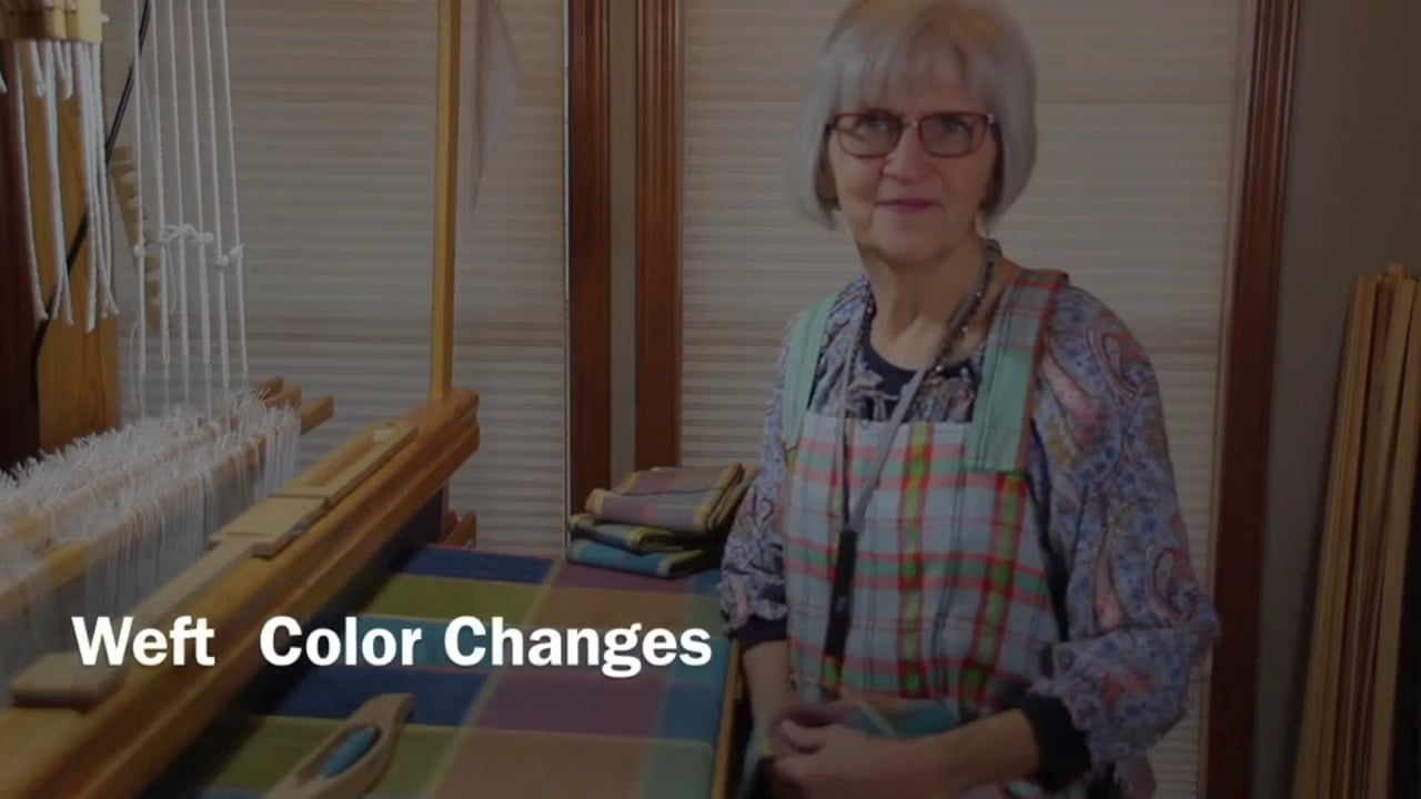 Weft  Color Changes