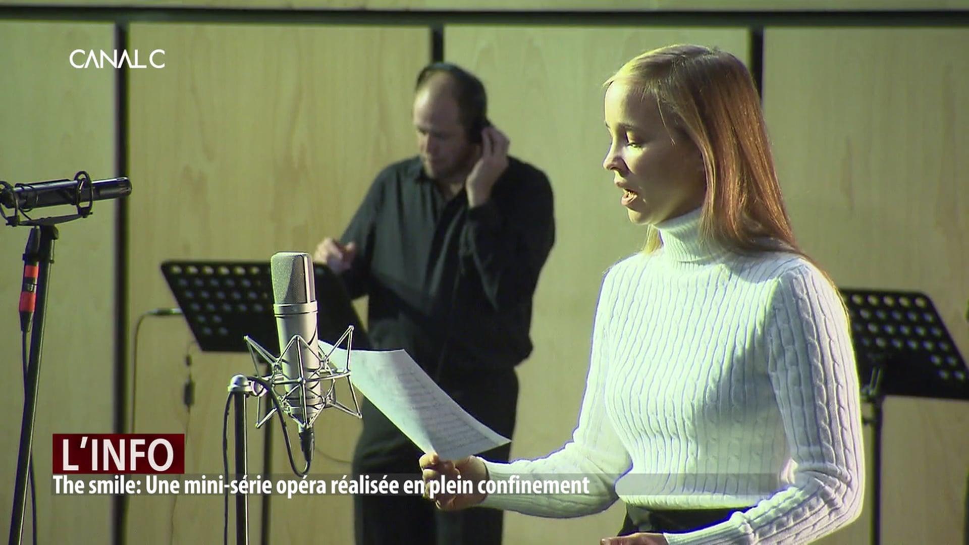 The smile Une web-série Opéra tournée à Namur – Canal C – Votre média en Province de Namur
