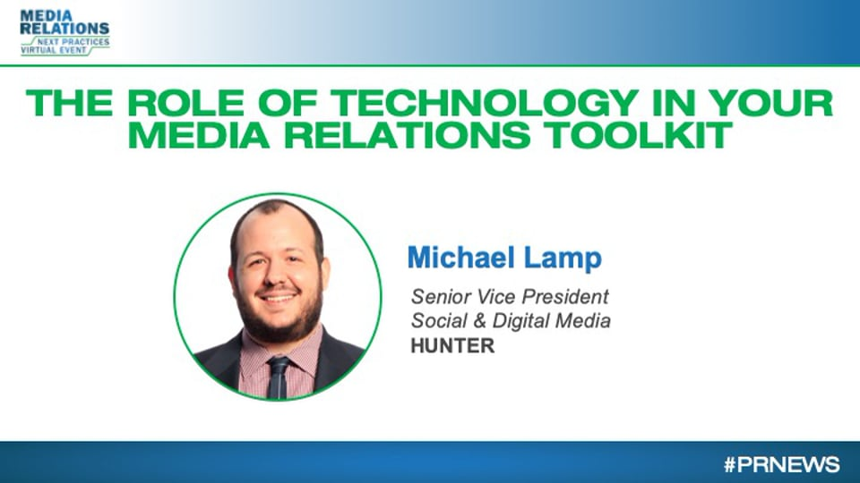 The Role of Technology in Your Media Relations Toolkit
