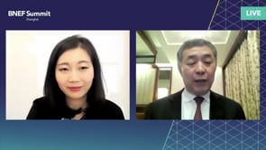 """Watch """"<h3>Junfeng Li, First Director and Chairman of Academic Committee, National Center for Climate Change Strategy and International Cooperation interviewed by Yushen Liu, Head of Greater China Business Development, BloombergNEF</h3>"""""""