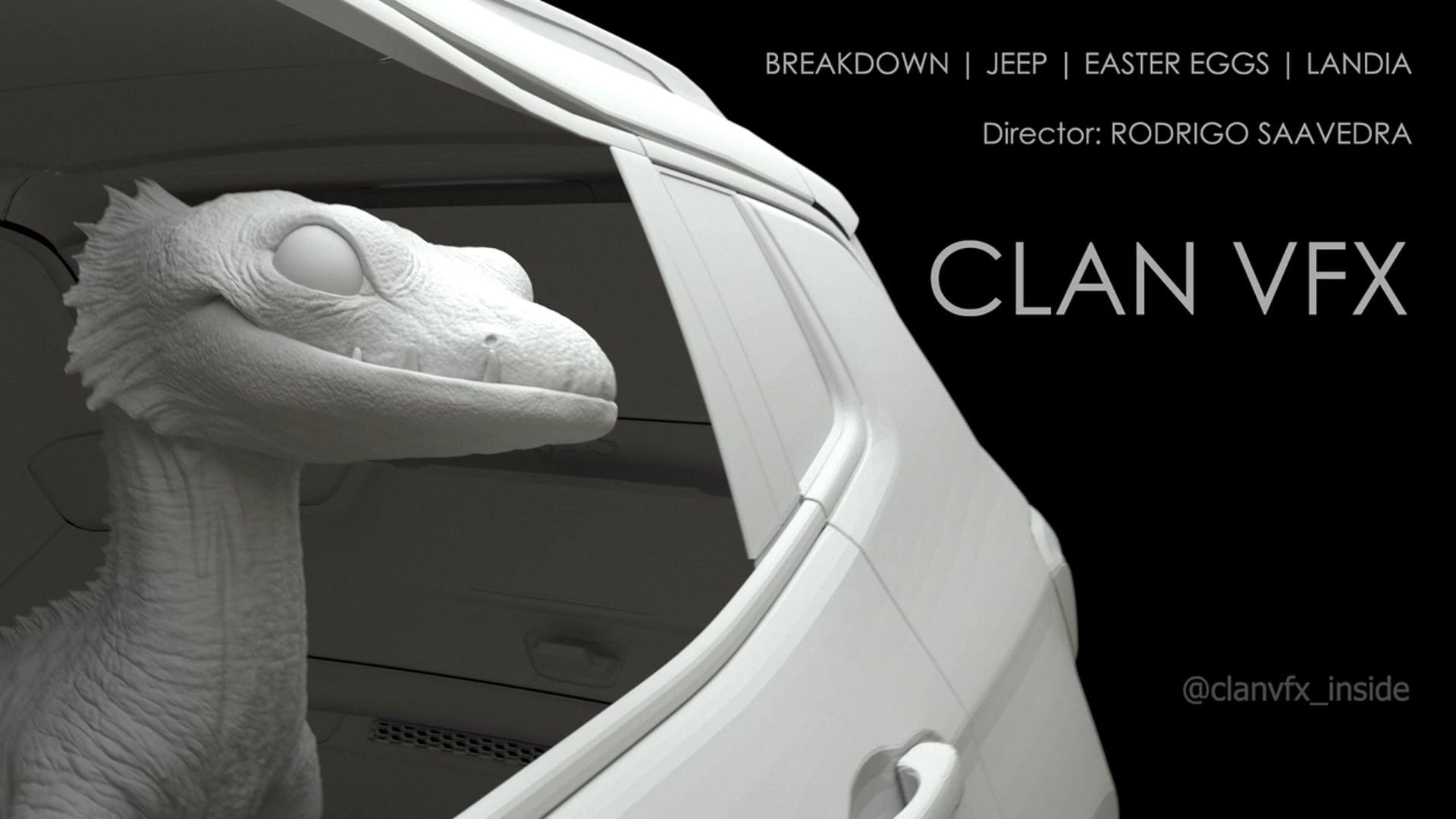 VFX Breakdown | Jeep | Easter Eggs | Landia | CLAN VFX