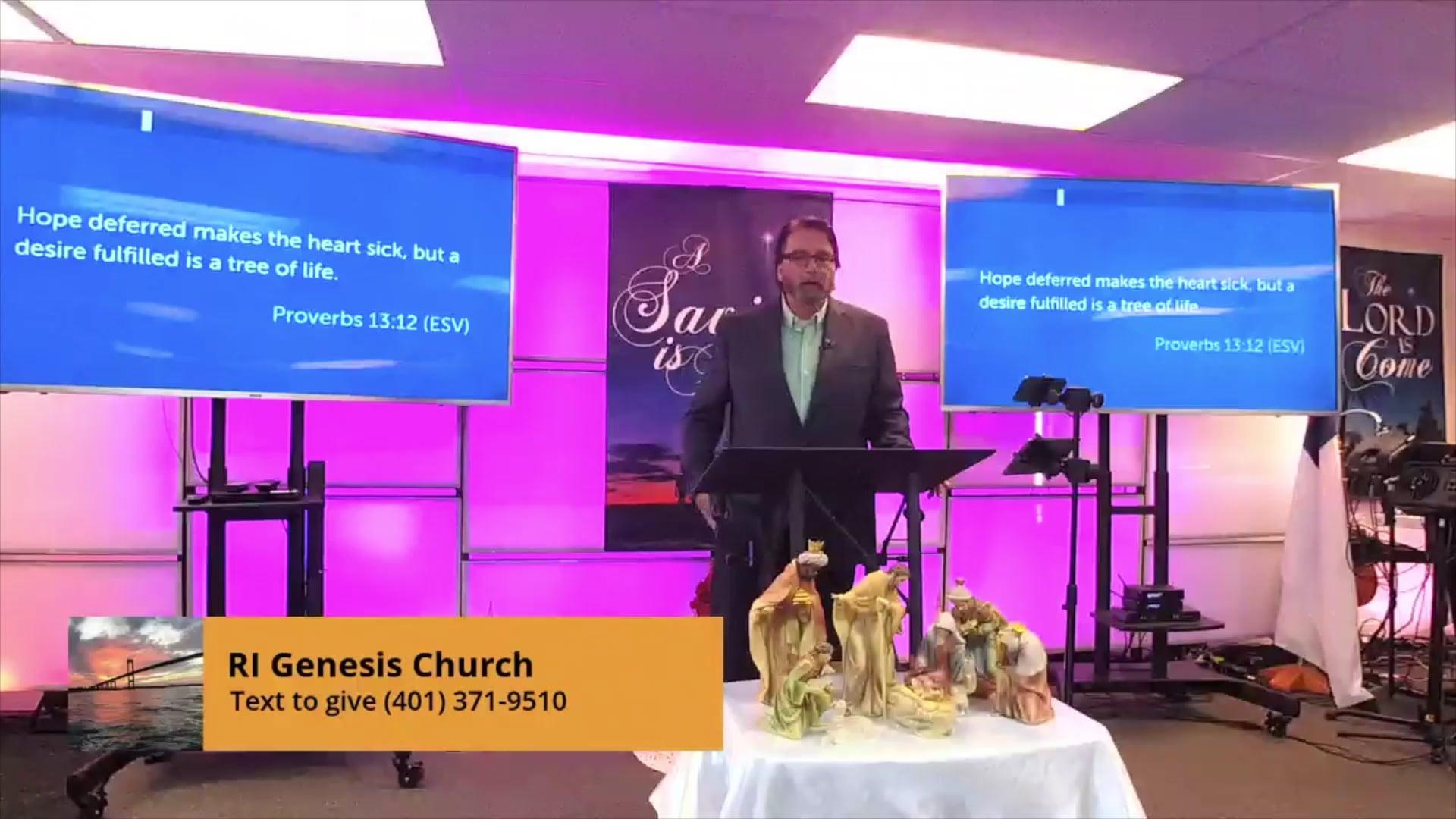 'Hope' Pastor George Ellingwood
