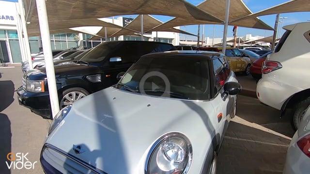 Mini Cooper White 2013 Fo...