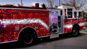 Holiday Cheer Fire Truck