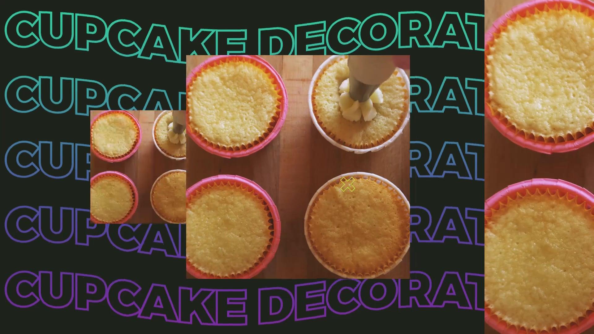 Virtual Cupcake Decorating
