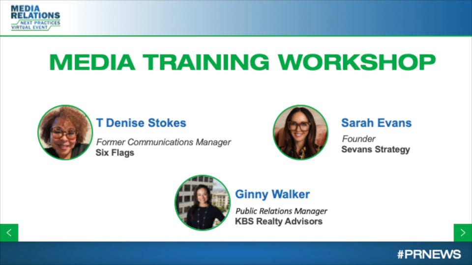 Workshop: Media Training