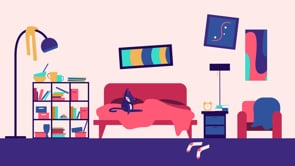 Video calls - CLC Animation