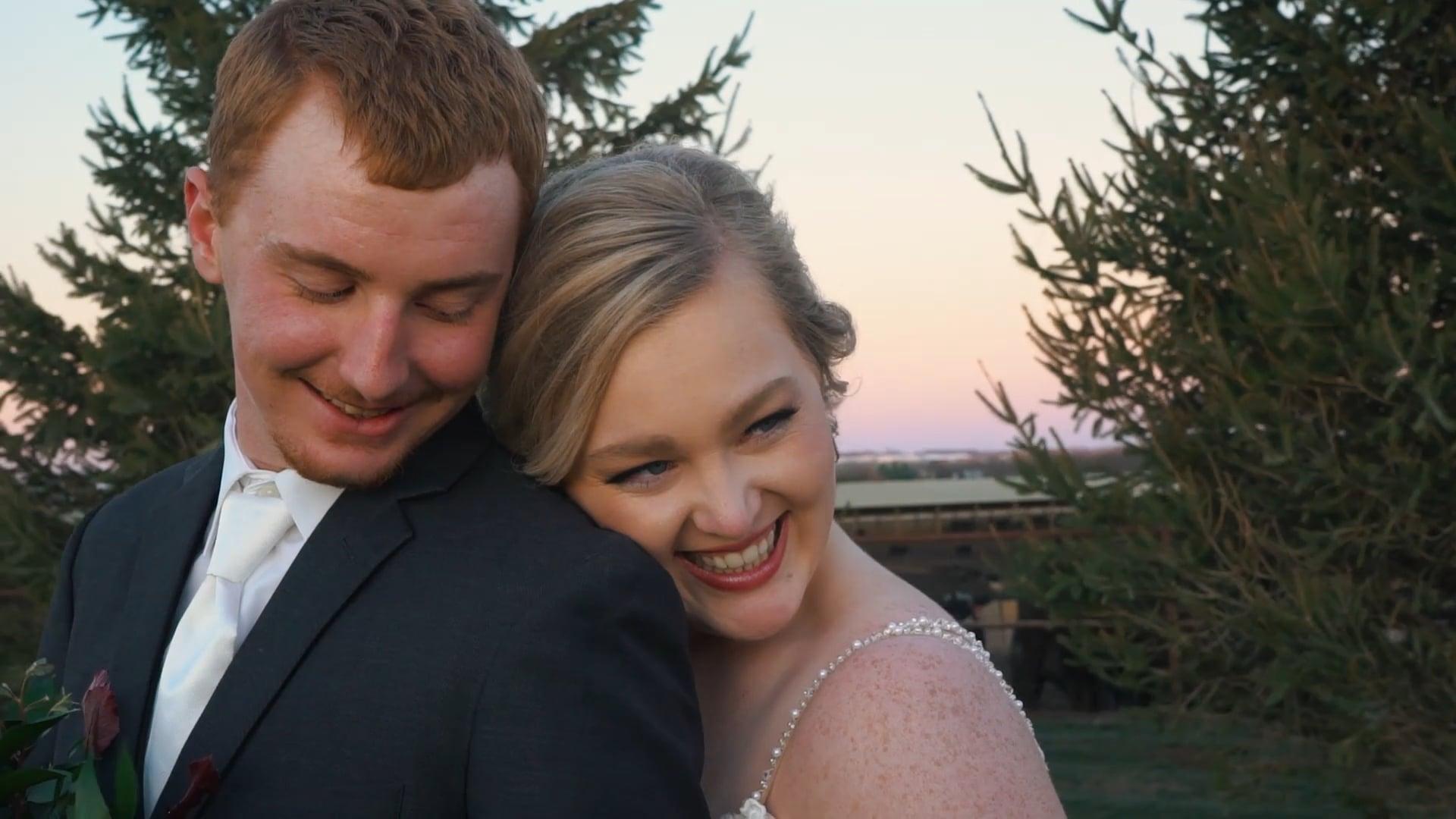 Adam & Kennedy   Atlantic Iowa Wedding Film