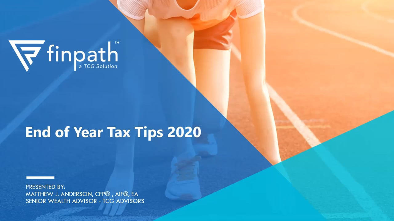 FinPath - End of Year Tax Tips 2020
