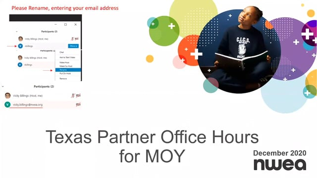 MOY Office Hours for 1st & 2nd Year Partners