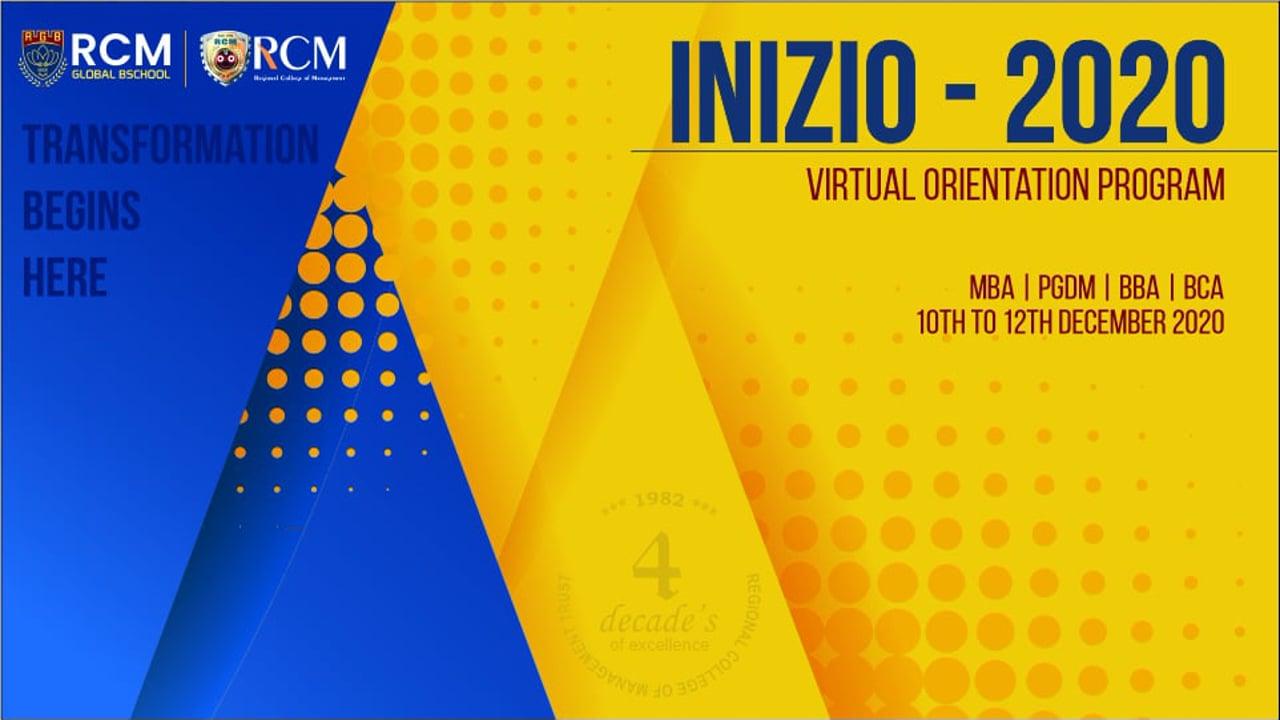 INIZIO 2020 (Virtual Orientation Program