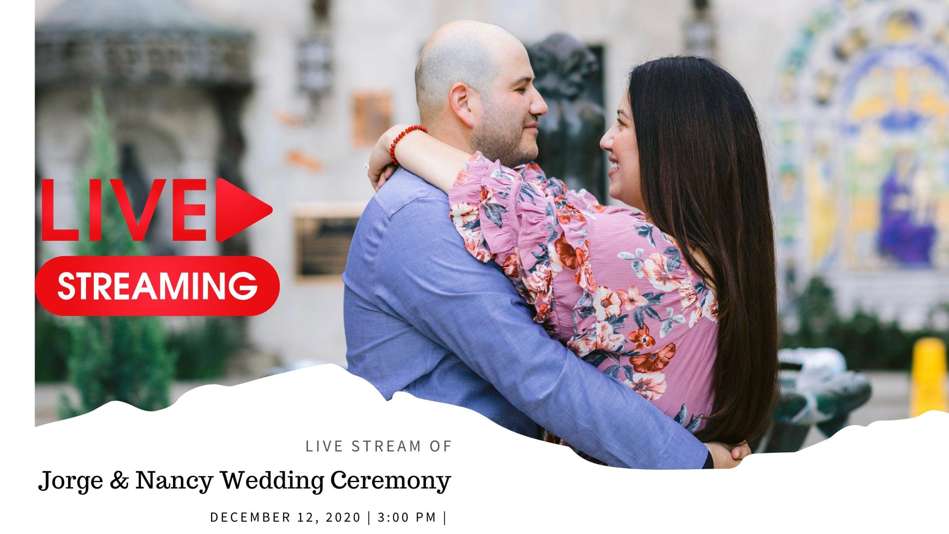 Jorge & Nancy Live Wedding Ceremony | San Fernando Mission