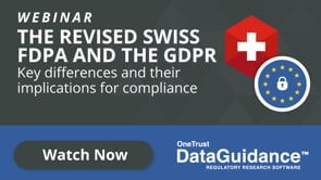The Revised Swiss FDPA and the GDPR