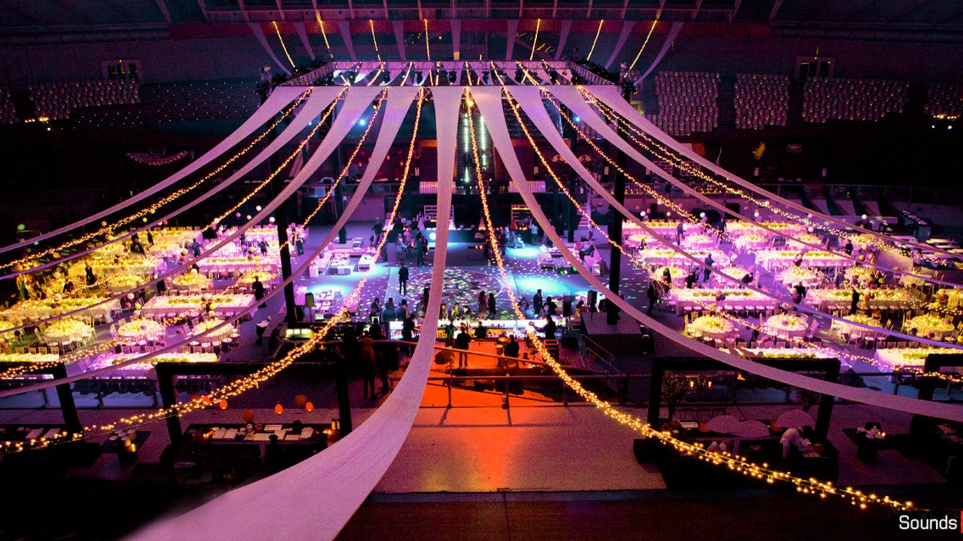 Winter wedding party @ O.A.C.A Velodrome