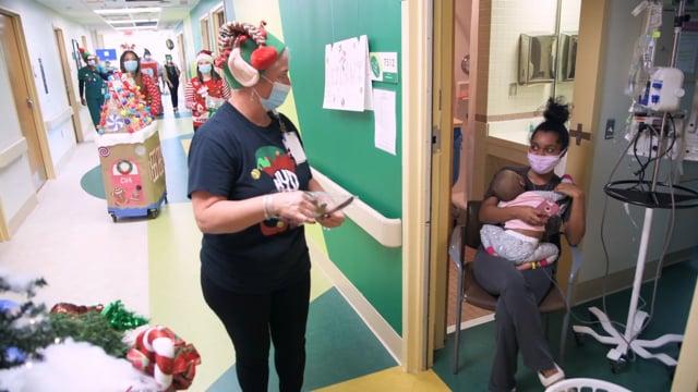 Children's Hospital Christmas Parade B-Roll