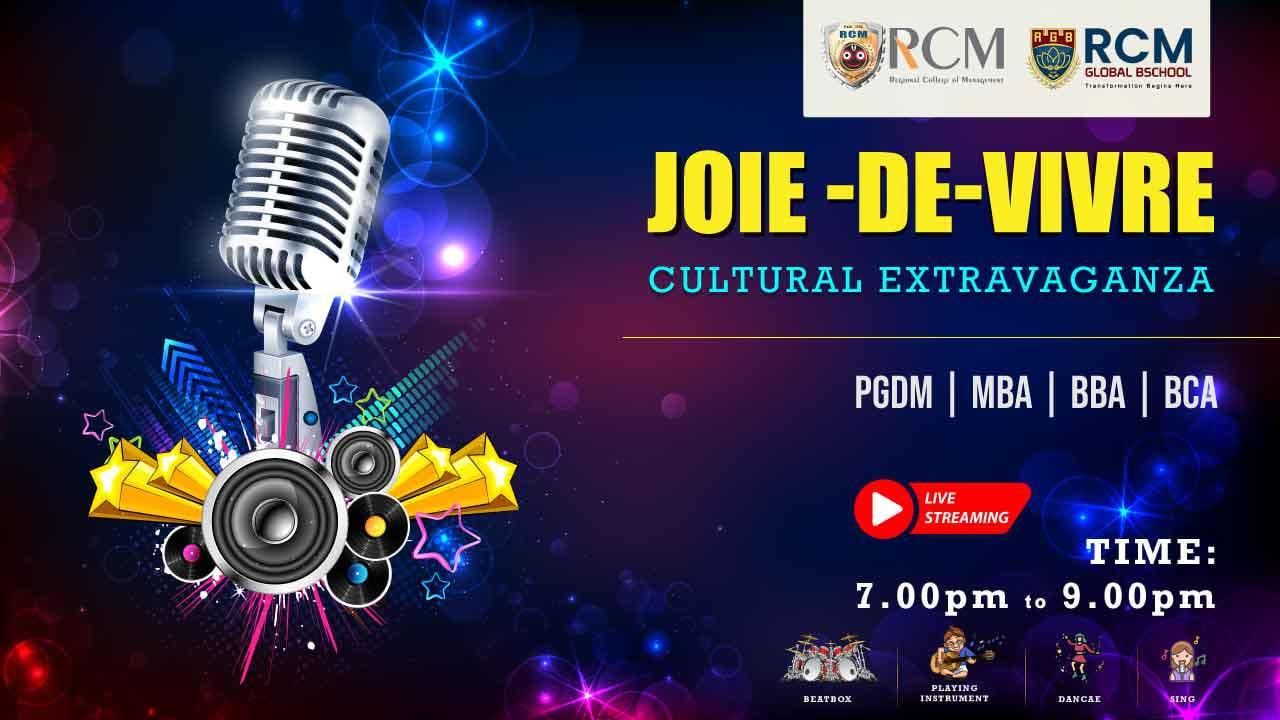 JOIE-DE-VIVRE (Virtual Cultural Programme)