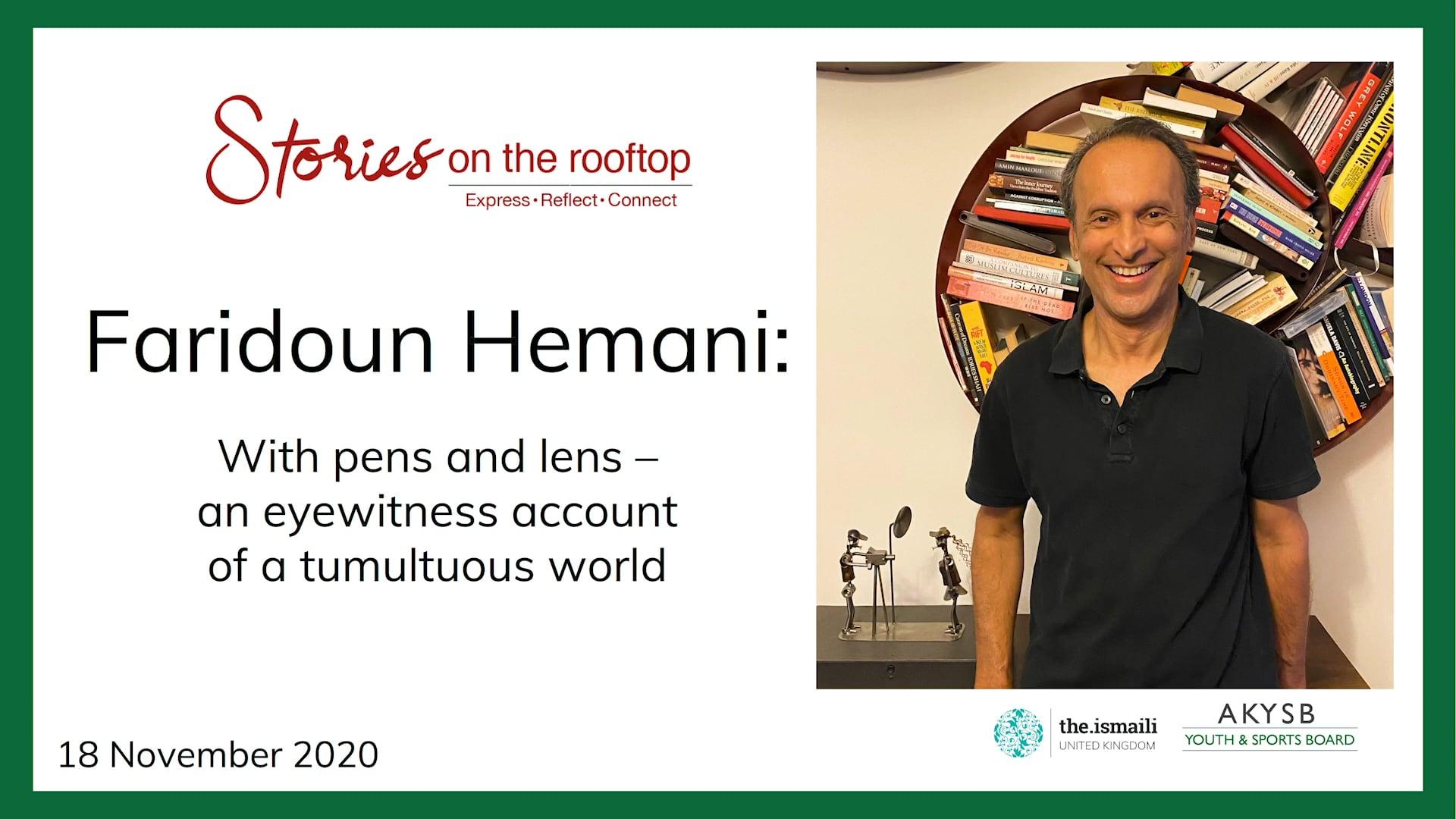 Stories on the Rooftop: Faridoun Hemani