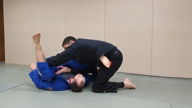 Passage de reverse de la worm en tournant autour de l'adversaire