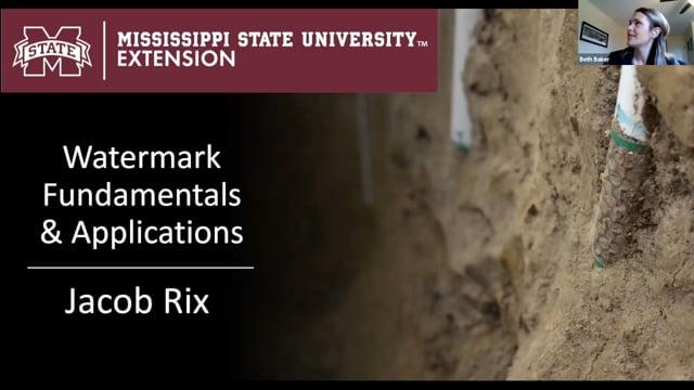 Watermark Fundamentals & Applications, Jacob Rix