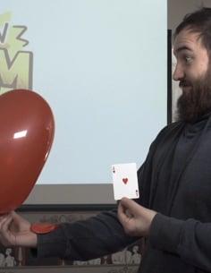 Vídeo: Balloon Boom. Explosión de globos